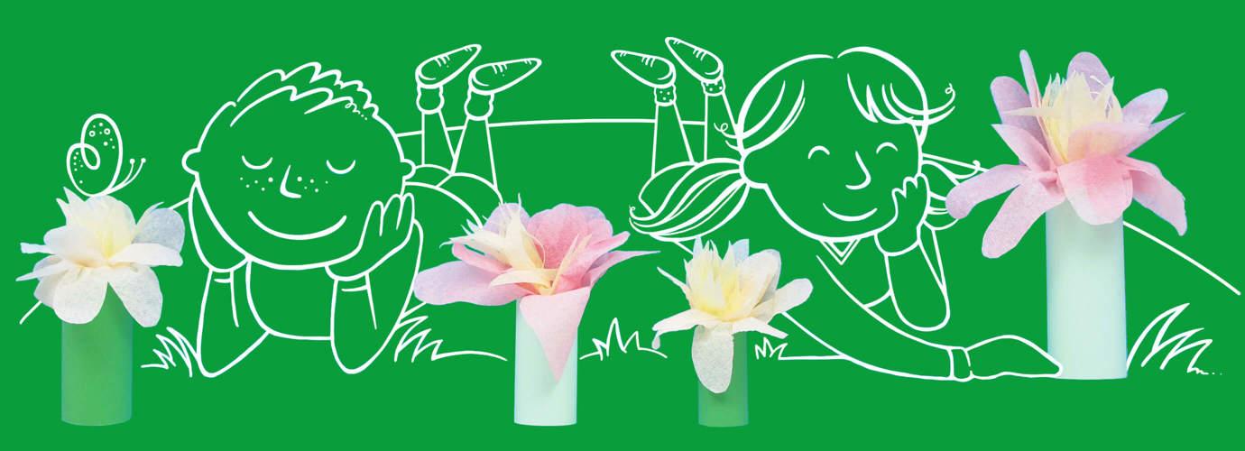 Papieren Bloemen Maken (1)