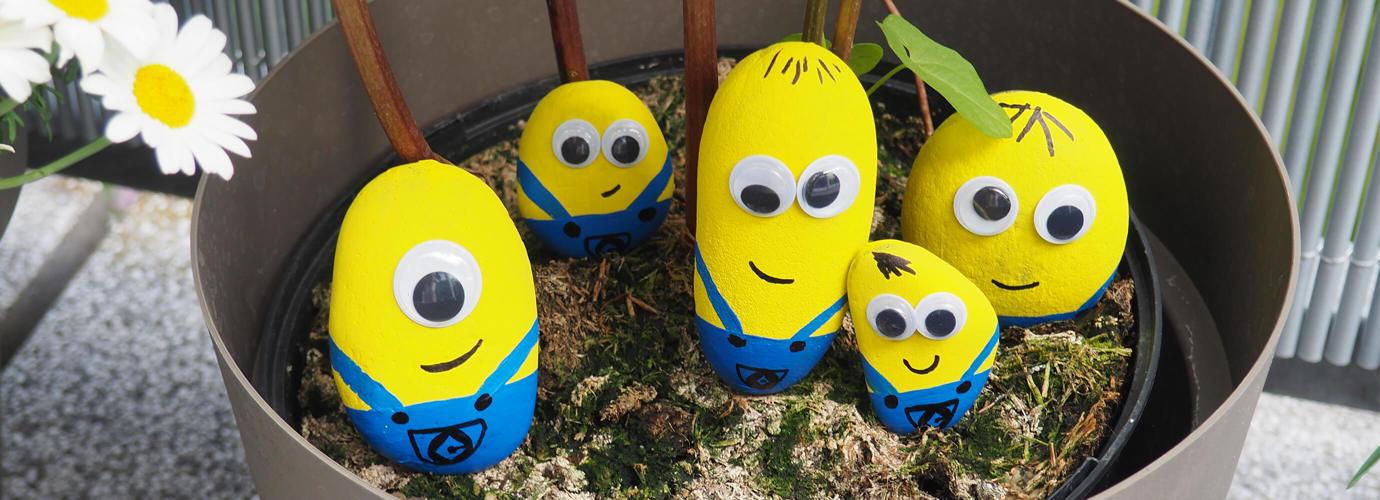 Decoratieve Minions-steentjes