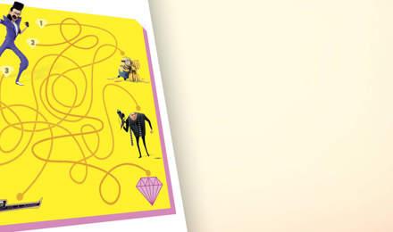 Minions-Labyrinthspiel