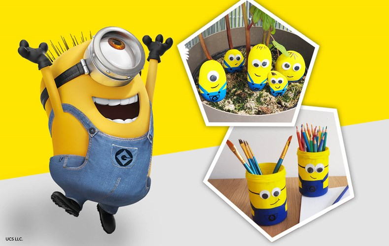 Knutselen met de Minions Creatieve tips voor gele superschurken