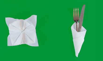 how to fold napkins plenty