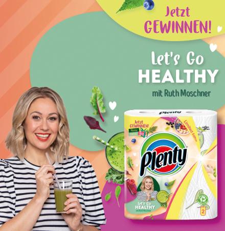 Let´s go Healthy Gewinnspiel