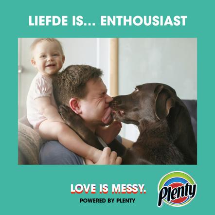 Plenty Love is Messy Meme Liefde