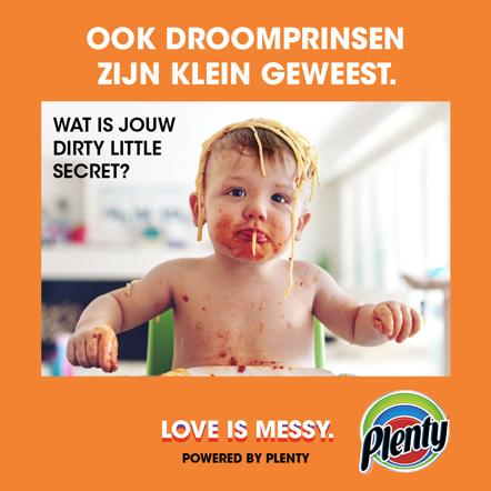 Plenty Love is Messy Meme Droomprinsen