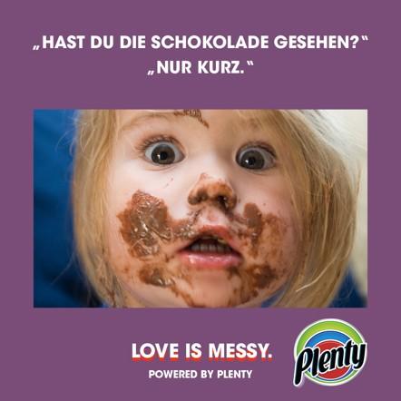 Plenty Love Is Messy Meme Schoki