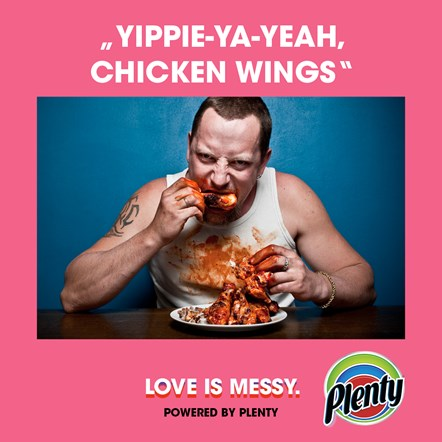 Plenty Love is Messy Meme Yippie-Ya-Yeah