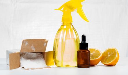6 natuurlijke schoonmaakmiddelen om je huis te reinigen
