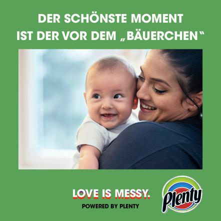 Plenty Love Is Messy Meme Bäuerchen
