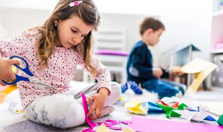 Eenvoudige origami-dieren voor kinderen