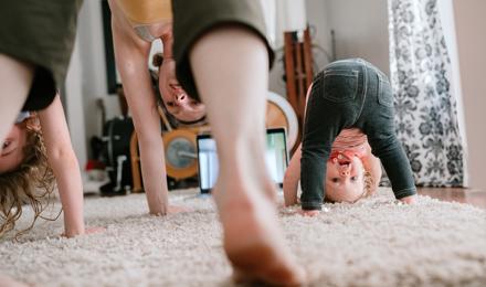 Yoga met kinderen: dierenyoga